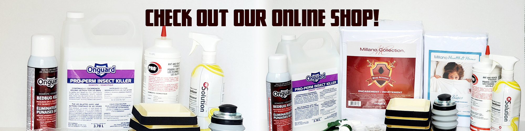 bed bug removal online store
